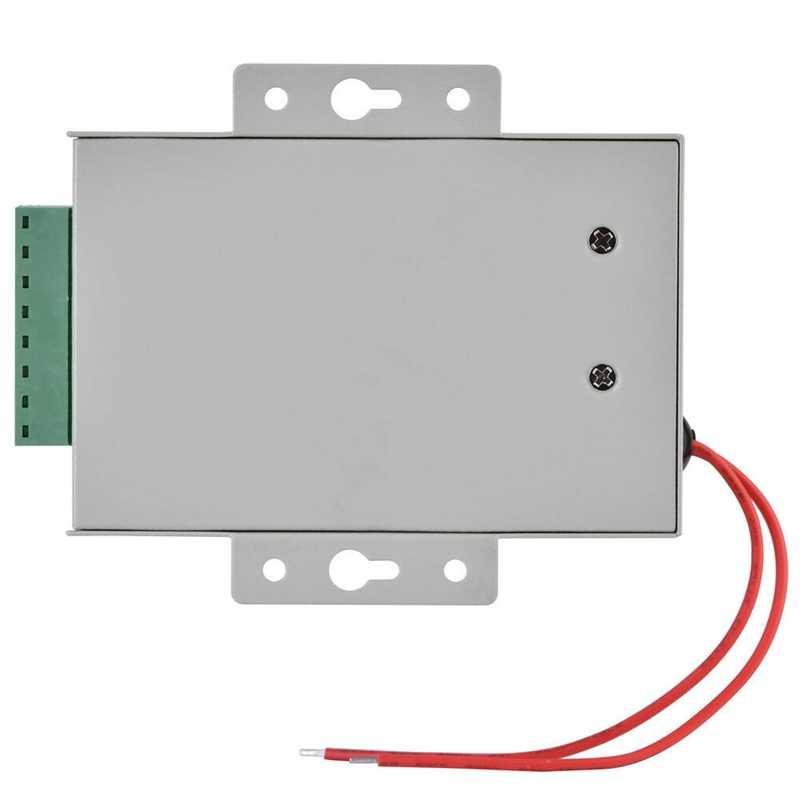 K80 ประตูระบบแหล่งจ่ายไฟ DC 12V 3A Miniature Power/ล็อคไฟฟ้า Power/Access ระบบควบคุม