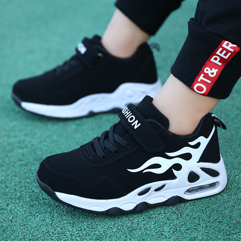 2020 New Outdoor Fashion Breathable Leisure Sports Running Shoes for Girls Shoes for Boys Kids Basketball Children Student Shoes Running Shoes     - title=