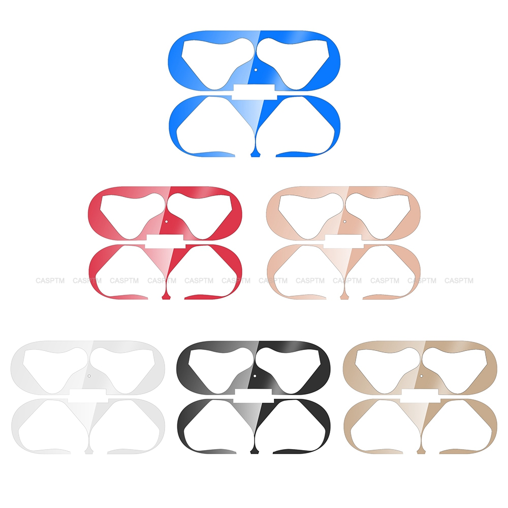 Anti Dust Sticker For Huawei Freebuds 3 Ultra Thin Bluetooth Headphone Stickers For Huawei Freebuds 3 Metal Earphone Protector