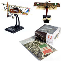1/72 reconnaissance aircraft biplane fighter model Italeri SVA 10 Alloy military plane model Exquisite Decoration Airplane Toy