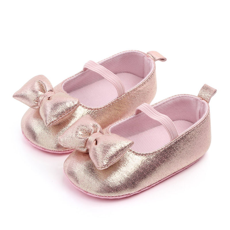 2019 Baby PU Leather Baby Girl Moccasins Shoes Bow Fringe Soft Soled Non-slip Footwear Princess Crib Shoes