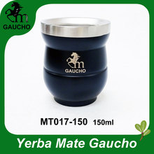 Gourds Yerba Mate Stainless-Steel Heat-Insulated Calabash Hot-Sale 120pcs/Lot Easy-Cleaning