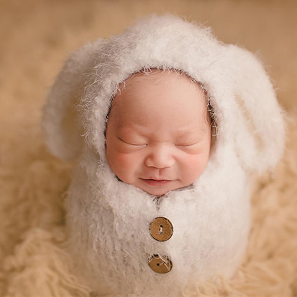 Baby Photography Clothing Potato Sleeping Bag Hundred Days Puppy Hand Woven Infant Sack