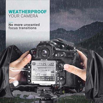 цена на Photo Professional Digital SLR Camera Cover Waterproof Rainproof Rain Soft bag for Canon Nikon Pendax Sony DSLR Cameras