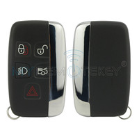 Smart car key 5 button KOBJTF10A 434 Mhz for Jaguar remtekey