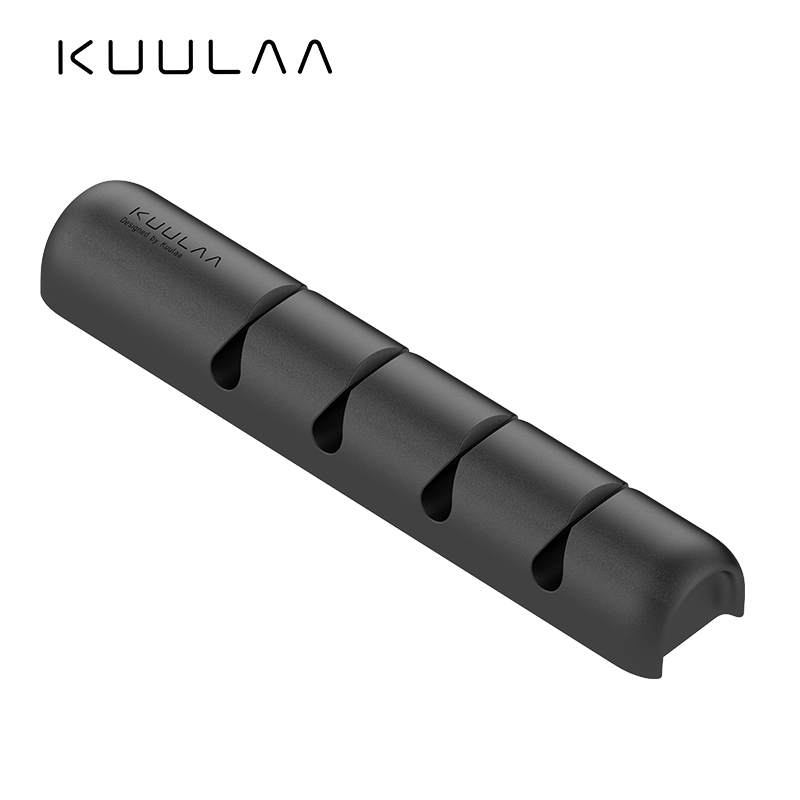 KUULAA <font><b>Cable</b></font> <font><b>Organizer</b></font> Silicone USB <font><b>Cable</b></font> Winder Desktop Tidy Management Clips <font><b>Cable</b></font> Holder for Mouse Headphone Wire image
