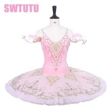 Nutcracker sugar plum fairy tutu ballet Adult Professional pink pancake skirt classical costumes BT9229