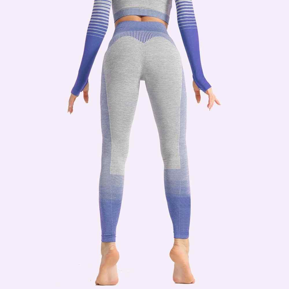 2 Stuk Push Up Set Leggings Shirt Gym Sets Trainingspak Vrouwen Workout Gym Kleding Sport Kleding Fitness Suits Vrouwen sportkleding