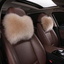 Универсальный Зимний теплый автомобильный шерстяной меховой