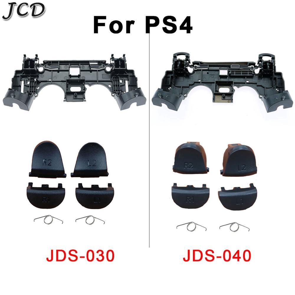 JCD Holder Support Inner Internal Frame Stand+L1 R1 L2 R2 Trigger Buttons Springs For PS4 Pro JDS 040 030 JDM 040 030 Controller