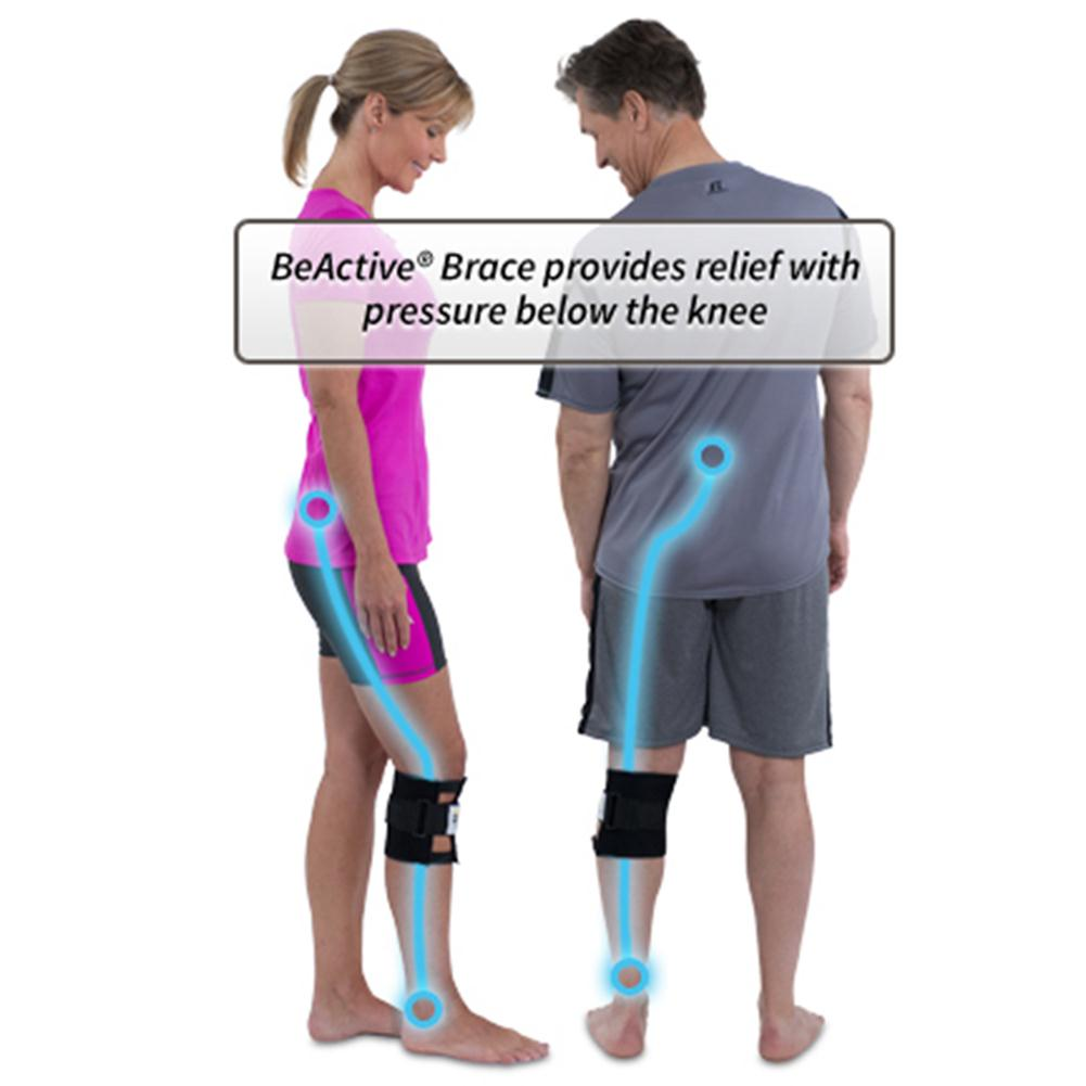Knee Leg Brace Back Pain Acupressure Elbow Support Sciatic Nerve Health Care