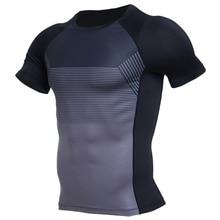 סווטשירט ספורט חולצה גברים של חולצה ארוך/קצר שרוול מודפס ריצה חולצה גברים של ספורט אימון כושר למעלה ספורט