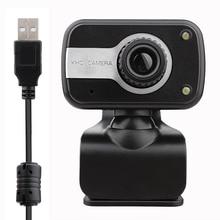 USB 2.0 HD 480P Webcam CMOS Sensor Digital Video Camera web cam for PC Laptop Notebook Computer Clip-on