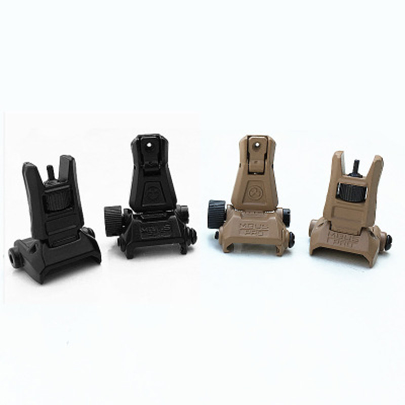Outdoor Hunting Air Gun 20mm Guide Rail Rail Installation Of Star Lighting Door Mechanical Sight Sight Metal Aiming Device