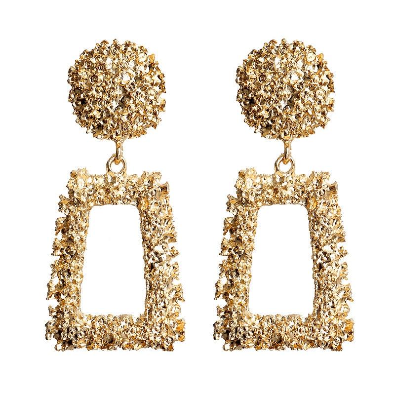 Earrings For Women Girls Exaggerated Modern Fashion Drop Earrings Hanging Dangle Earring Jewelry Vintage