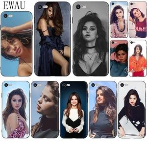 EWAU Selena Gomez Soft Silicone phone case for iphone 12 Mini X XR XS 11 Pro Max SE 2020 5 5s SE 6 6s 7 8 plus