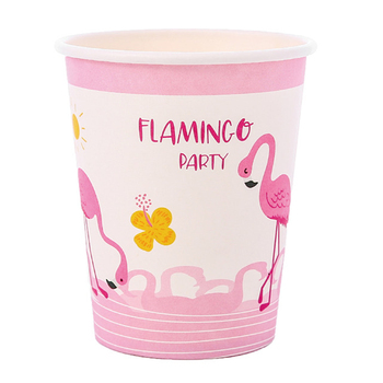 8 party disposable paper cup juice cup DIY decoration baby shower kids birthday wedding picnic tableware supply image