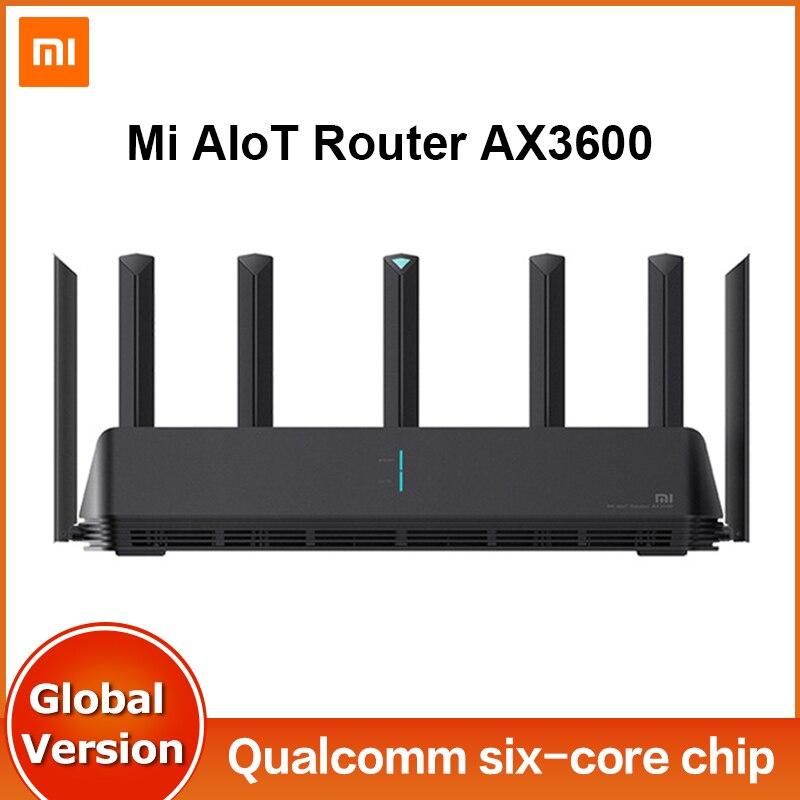 Глобальная версия Xiaomi Mi AIoT Router AX3600 6-ядерный чип 3-гигабитный беспроводной Rate WPA3 сетевое шифрование двухчастотный WiFi