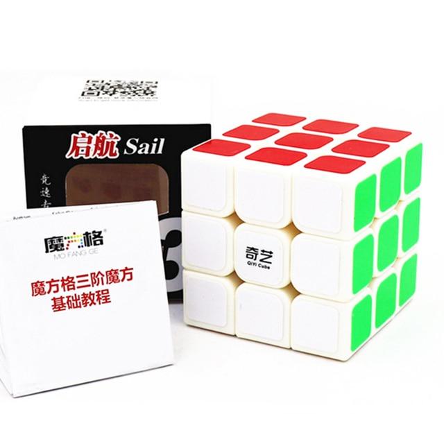 Qiyi Mofangge QiHang W Magic Cube 3x3 5.6 CM Speed Cube  Sail Cubo Magico Educational Puzzle Cube Toys for Children 5