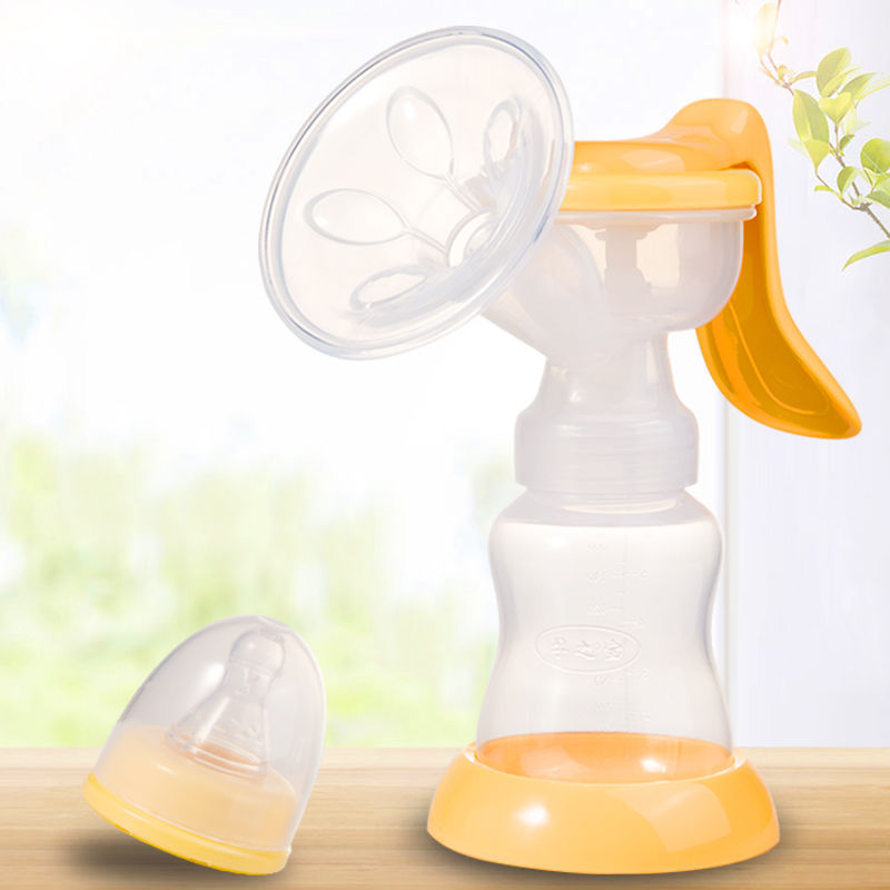 A Pieces Of Hair Manual Breast Pump Large Suction Painless Maternal Postpartum Supplies Milking Breast Unplug Non-Electric