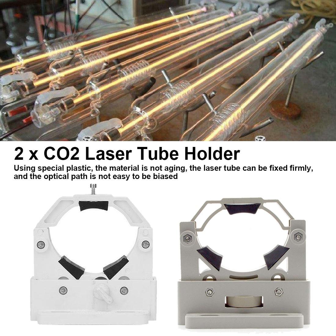 Plastic Laser Tube Support Holder Adjust Dia.50-80mm Flexible Plastic Support For CO2 Laser Engraving Machine 2Pcs/Lot
