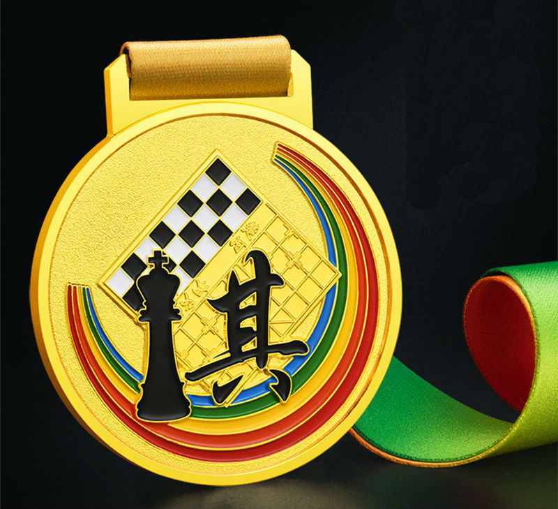 High Quality!Chess Medals International Chess Competition Medals Chess Games Metal Medals,Free Shipping!