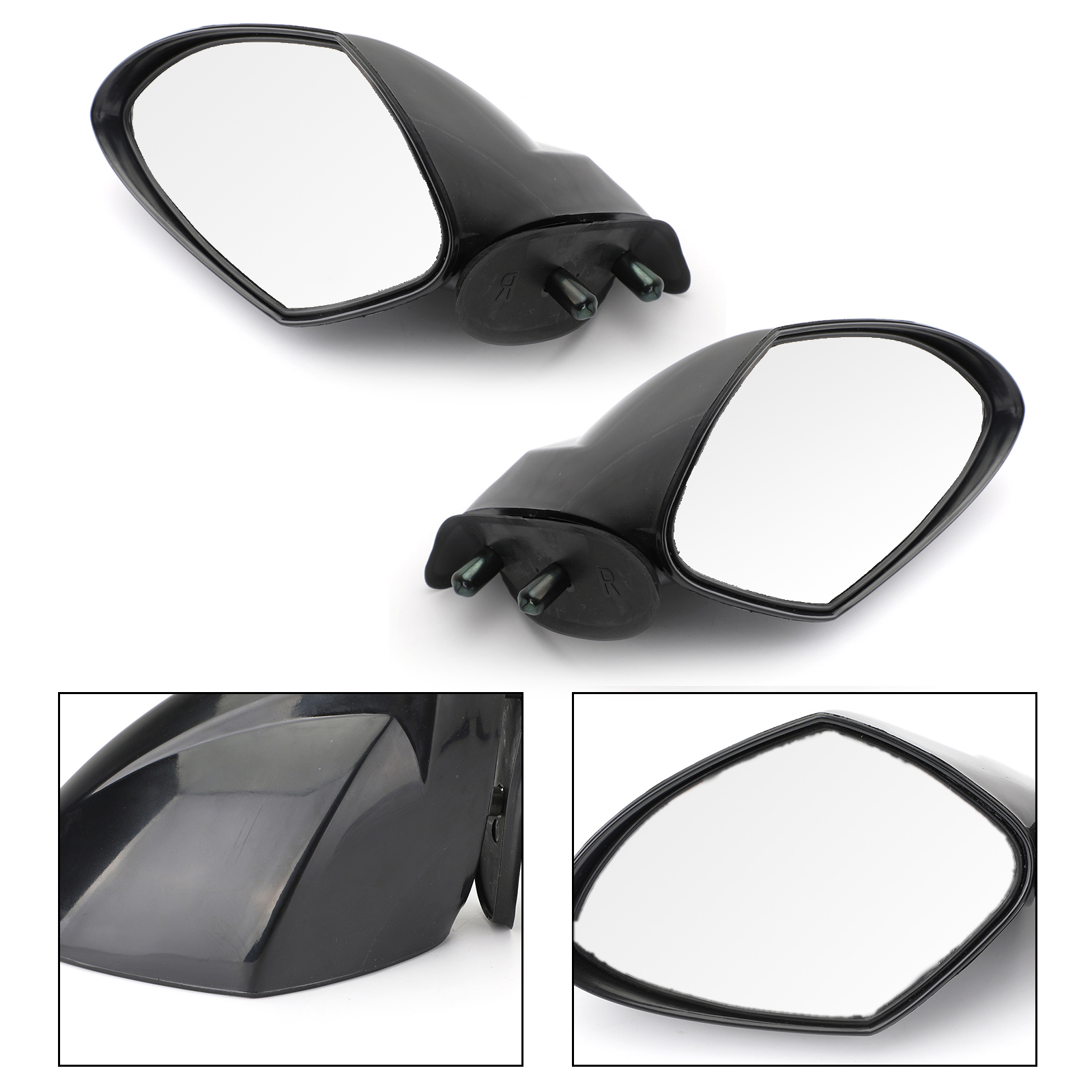 Artudatech Rearview Side Mirrors Pair For Yamaha WaveRunner VX VXR V1 VXS Cruiser Deluxe Sport 2005-2009 VX 110