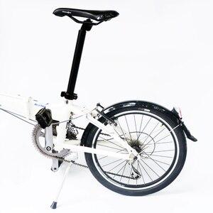 Image 5 - 20 inç katlanır bisiklet çamurluk çamurluk 2 adet ön arka bisiklet bisiklet çamurluk MTB bisiklet kanatları ile arka ışık bisiklet aksesuarları