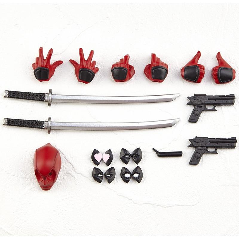 16cm Amazing Yamaguchi Series NO 001 Deadpool Superhero Action Figure Model Toy Doll Gift