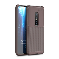 style protective For Vivo V17 Pro Case Business Style Silicon Rubber Shell TPU Back Phone Cover For Vivo V17 Pro Protective Case For Vivo V17 Pro (4)