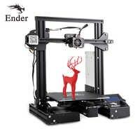 El más nuevo Ender-3 Pro 3D Printe DIY KIT de impresora 3D UpgradCmagnet Build Plate Ender-3Pro CV error de alimentación impresión Creality 3D