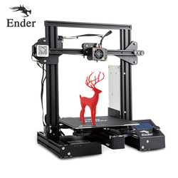 Ender-3 Pro 3D Printe DIY KIT Upgrad Cmagnet Build Plate Ender-3Pro Resume Power Failure Printing Mean Well Power Creality 3D