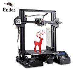 Ender-3 Pro 3D Printe KIT FAI DA TE Upgrad Cmagnet Costruire Piatto Ender-3Pro Riprendere Mancanza di Alimentazione Stampa Mean Well Potere Creality 3D