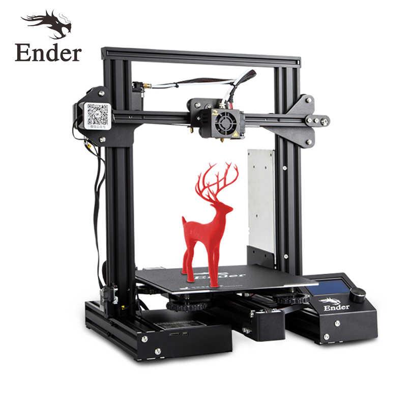 Ender-3 Pro 3D impression kit de bricolage Upgrad caimant construire plaque Ender-3Pro reprendre la panne de courant impression moyenne bien puissance créalité 3D