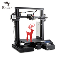 Ender 3 Pro 3D Printe DIY KIT Upgrad Cmagnet Build Plate Ender 3Pro Resume Power Failure Printing Mean Well Power Creality 3D
