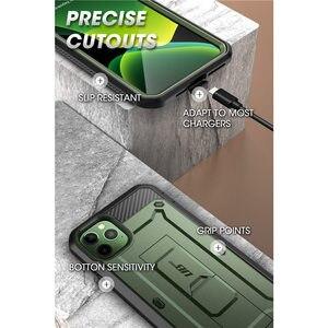 """Image 5 - Dla iPhone 11 Pro Case 5.8 """"(2019) SUPCASE UB Pro wytrzymała obudowa etui na cały korpus z wbudowanym ochraniaczem ekranu i podstawką"""