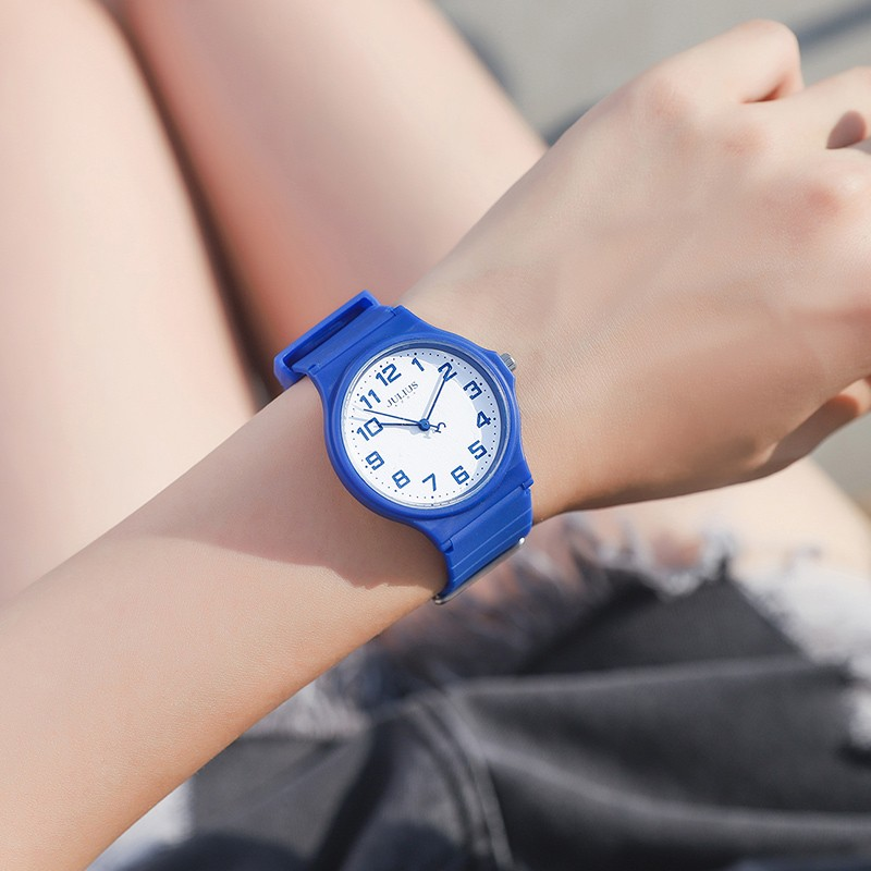 Child Casual Watches Kids Sports Soft Rubber Band Wrist Watch Children Time Student Clock Kol Satti Boy Girl Gift Simple Relogio