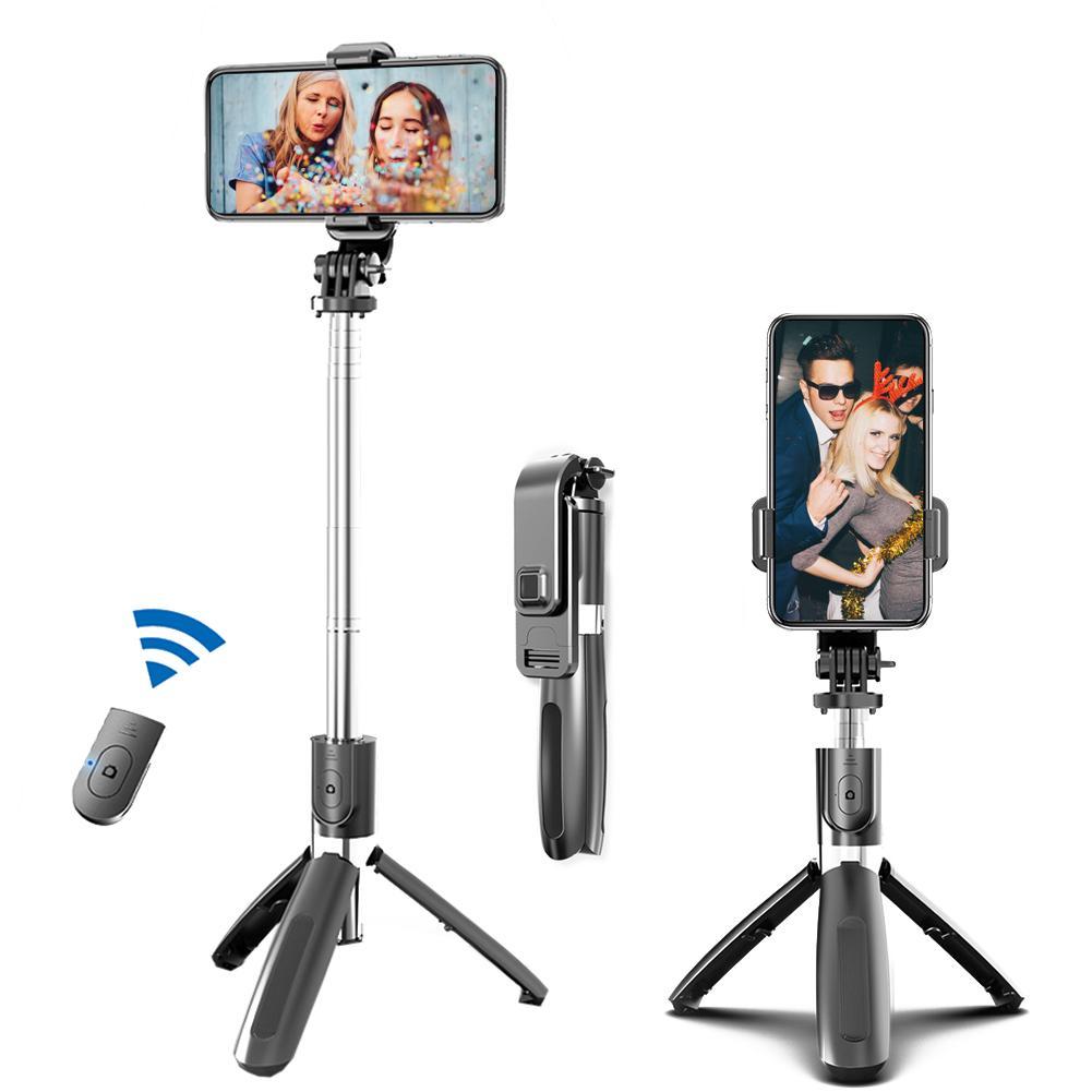 Портативный штатив монопод для селфи палка ручной стабилизатор для Мобильный телефон фотосъемка в прямом эфире платной с дистанционным уп...