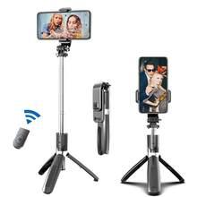 Tragbare Stativ Selfie Stick für Handy Foto Unter Live Broadcast Chargable Bluetooth Fernbedienung Stativ Pole