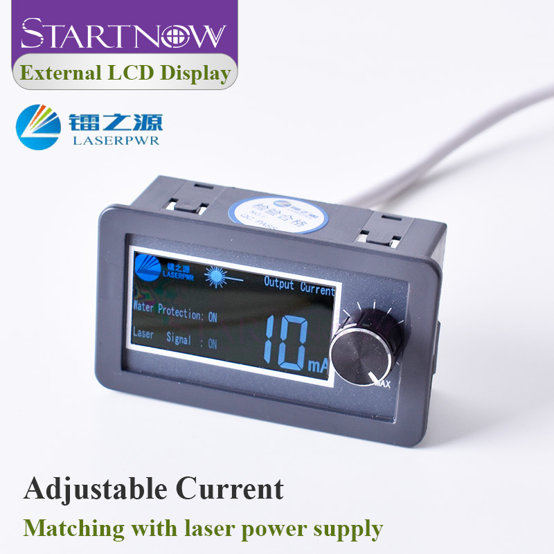 HY Series LCD Display Test Device Monitor For CO2 Intelligent Laser Power Supply External Screen Current Adjustable Laser Parts