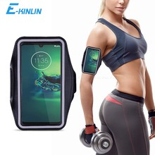 Spor salonu koşu egzersiz çantası kılıfı kol bandı Motorola Moto G9 G8 G6 G5S G5 G4 G7 güç Lite oyun artı telefonu kemer çantası kapak