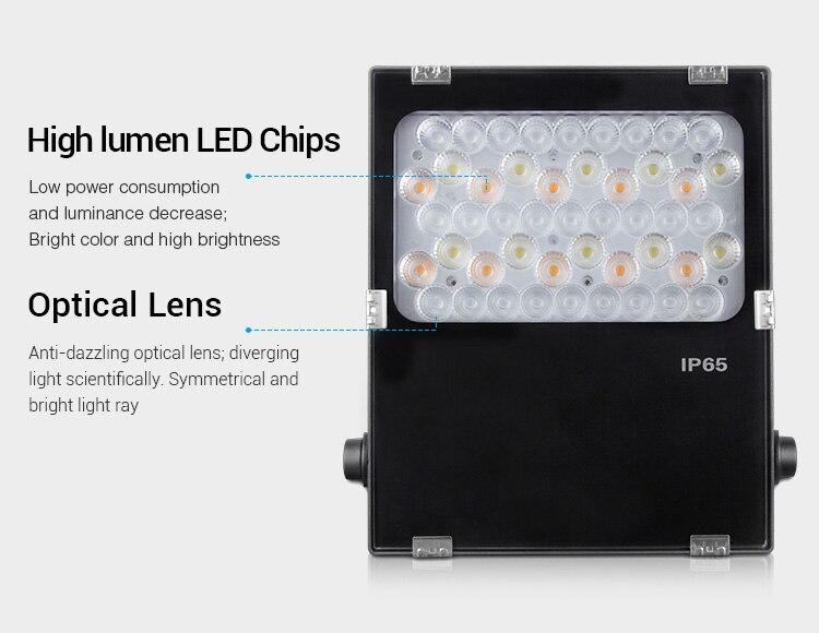 Miboxer LED Tuin Licht AC100 ~ 240V Groene ruimte/Park/road/decoratie smart Outdoor licht lamp waterdichte IP65FUTC06 50W RGB + CCT - 4