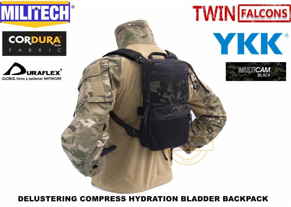 Militech compressa flatpack hidratação mochila mk3 compatível