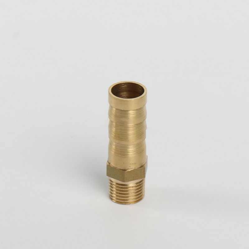 """6 ミリメートル 8 ミリメートル 10 ミリメートル真鍮の銅管継手 1/8 """"1/4"""" 1/2 """"フィッティングホース口尾 BSP メスアダプタガスホースジョイント"""