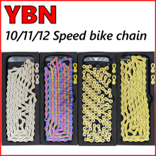 Titanium-Coating Bicycle Chain Gold Sram/campanolo-System YBN 11/12-Speed MTB SLA