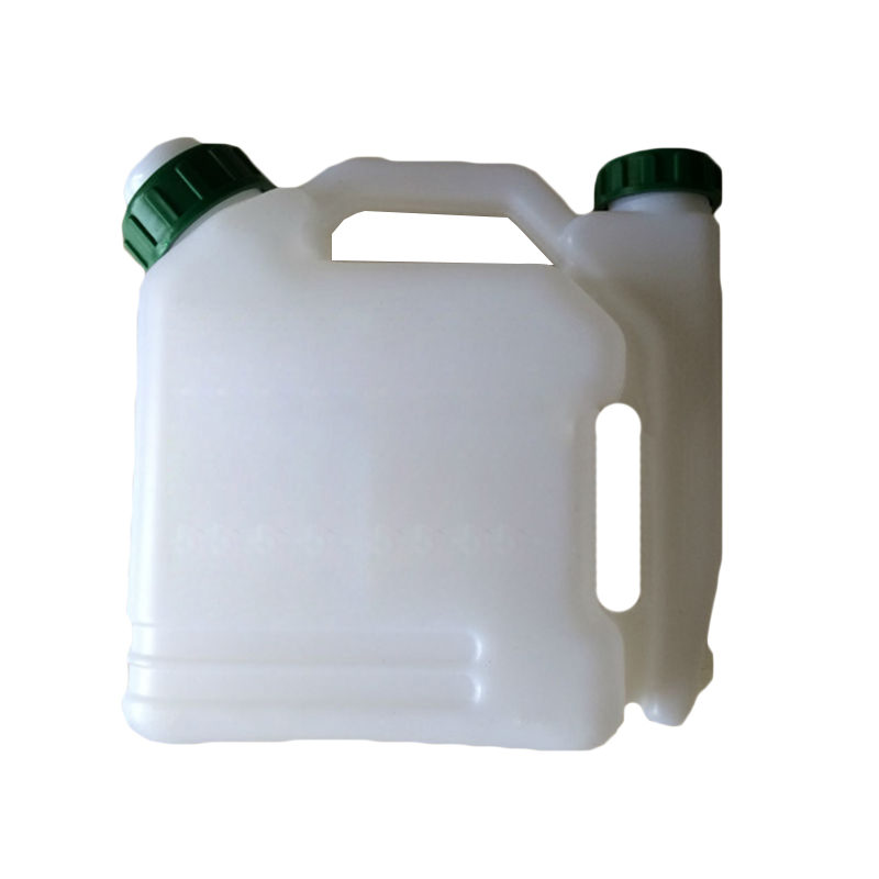 Gasoline Chainsaw 1.0L 2 Stroke Eco-friendly Material White Fuel Mixing Bottle