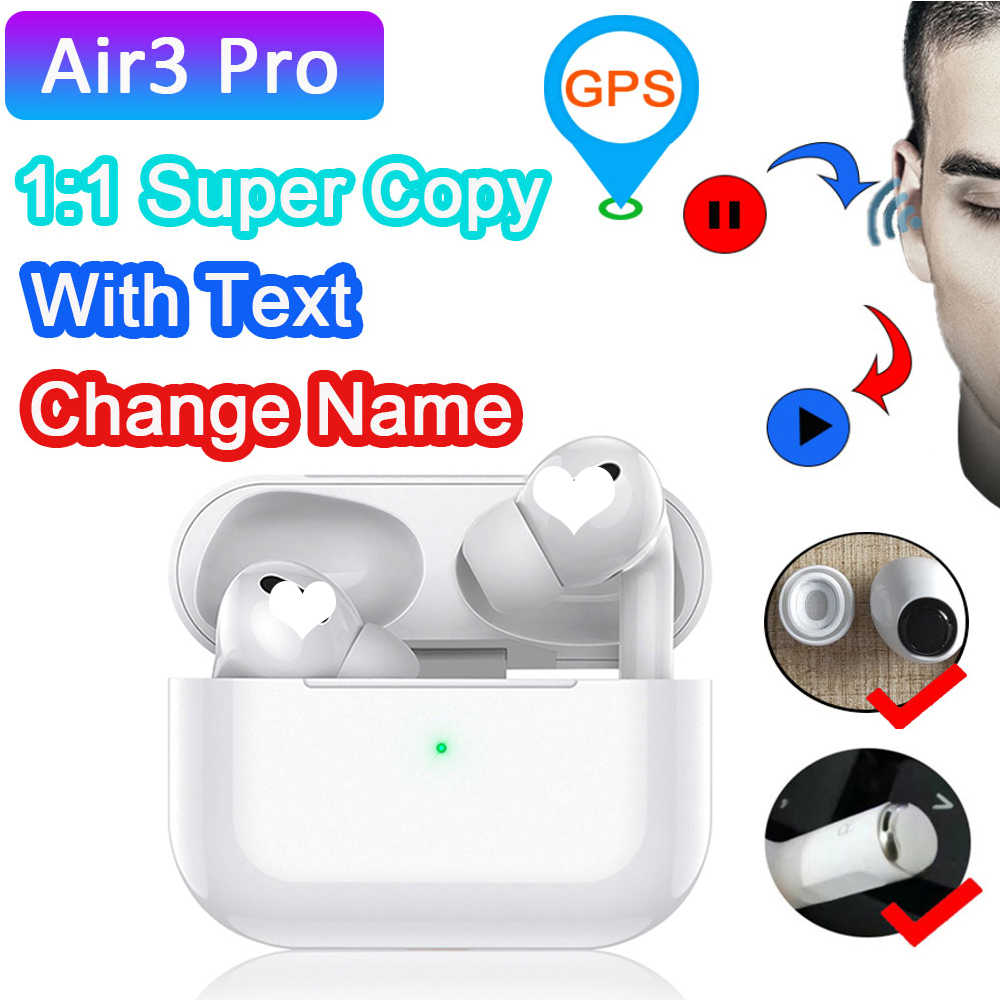 Oortelefoon Airpodding Pro 3 Draadloze Lading Bluedio Ios Bluetooth Tws Smart Touch Oordopjes Met Case Voor Iphone Android Pod Pro 3