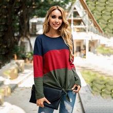Новинка Осень зима 2020 женский кружевной свитер с круглым вырезом