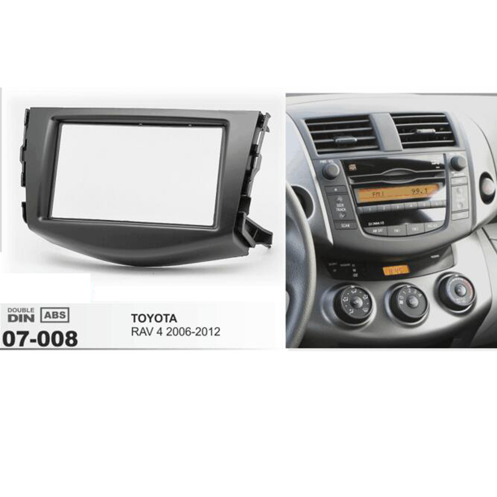 Smart Fortwo Coche Radio Estéreo Doble Din Facia Adaptador Placa 2007-2010