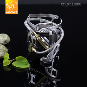 Image 3 - Bulin T4A  Stainless Steel Outdoor Foldable Gas Stove Camping Hiking Picnic Stove Split Burn for Outdoor Survival Gas Furnace